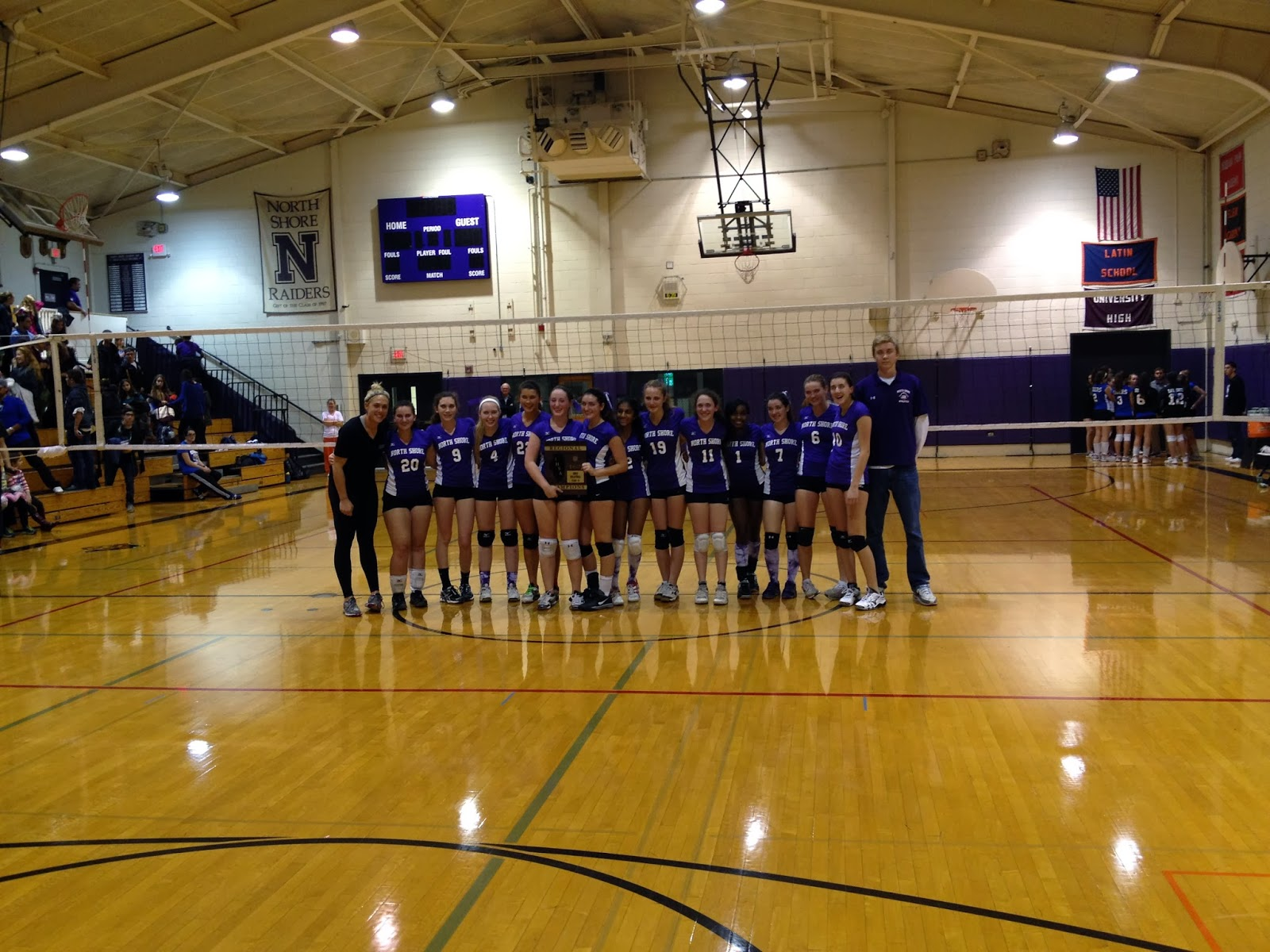 18b9e5c97f Our Varsity Volleyball team advanced to the IHSA Sectional Tournament last  night after they defeated Chicagoland Jewish High School 25-16, 25-16.