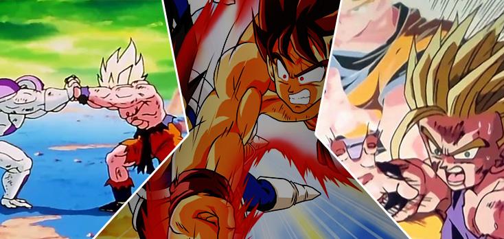5 melhores lutas de Dragon Ball Z