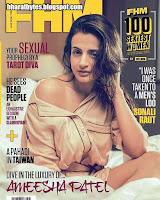 Amisha Patel Features on the cover of FHM India July 2016