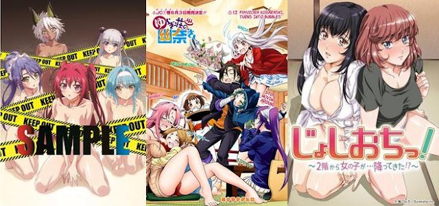 Daftar Anime Ecchi Terbaru 2018 yang Paling Hot Khusus Dewasa 18+