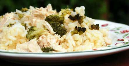 брокколи с курицей рецепт с фото