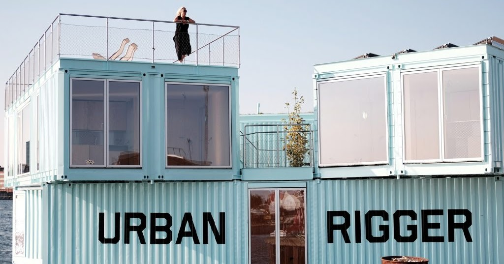 Scraper Magazine Urban Rigger By Bjarke Ingels Group