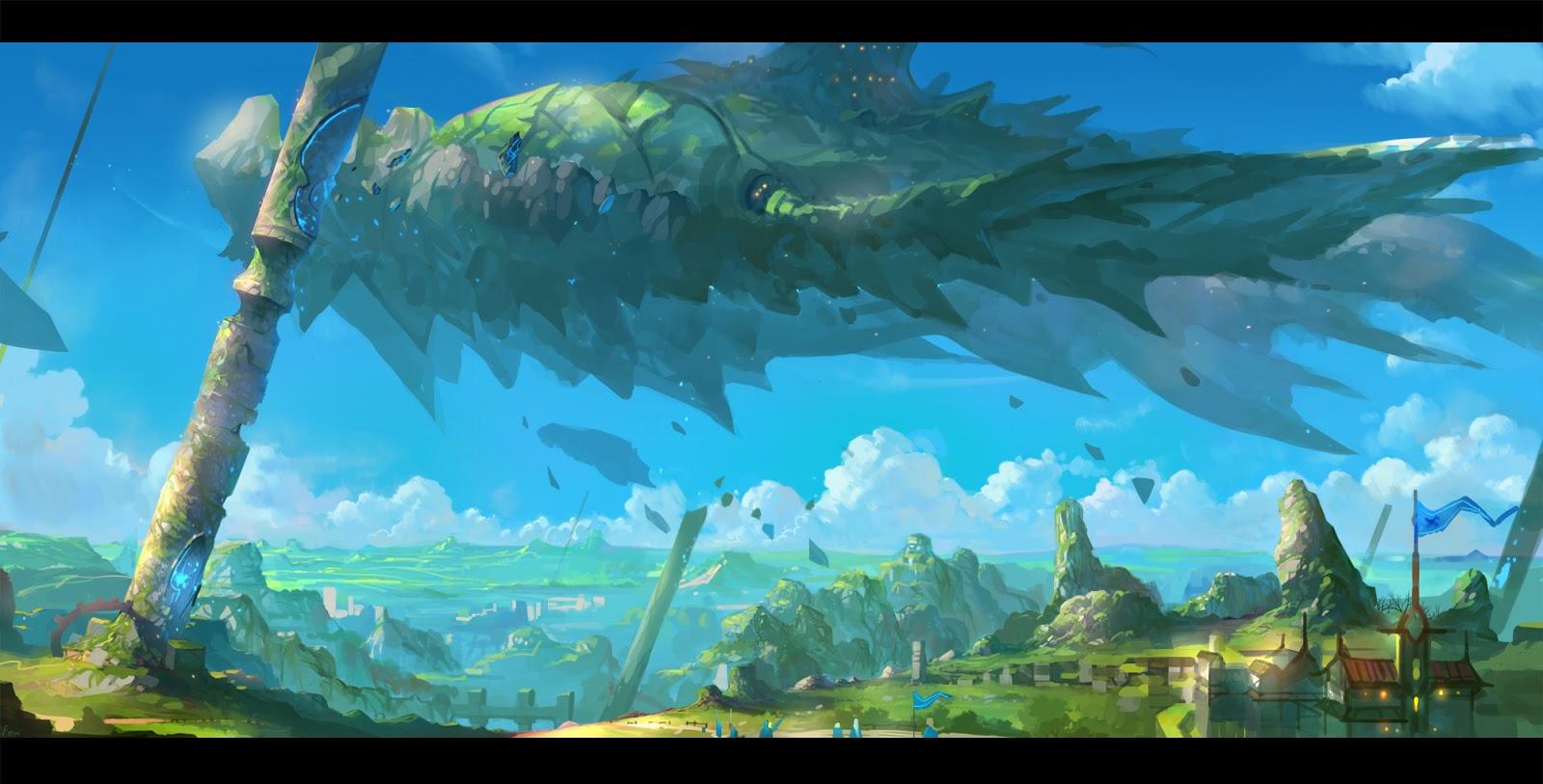 Anime Landscape Scenery