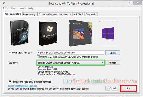 cara membuat bootable flashdisk windows 8.1