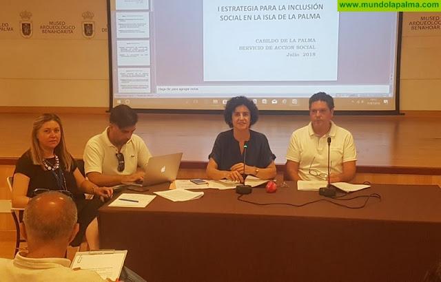 Cabildo, ayuntamientos y agentes sociales aúnan esfuerzos en una estrategia común para la inclusión social en la isla