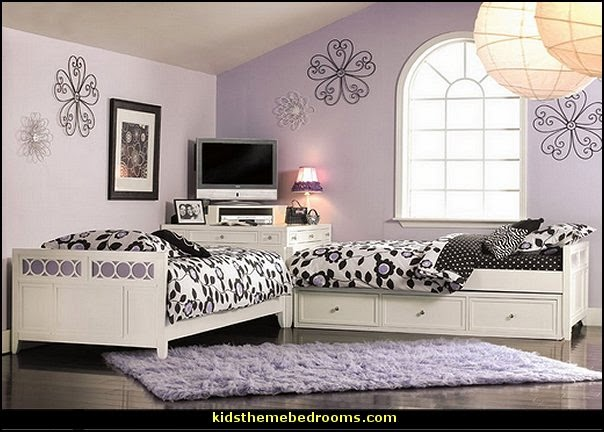 Decorating theme bedrooms  Maries Manor space saving