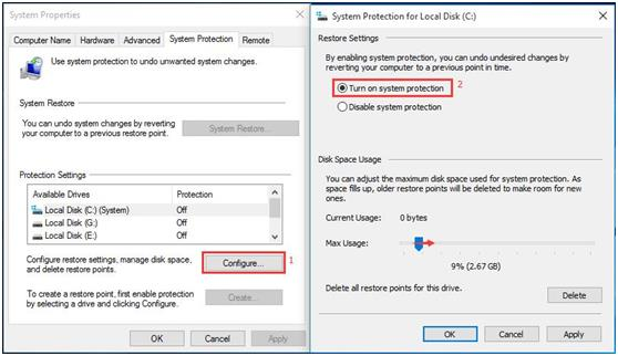 How to Restore the Computer to Earlier Date Windows in Windows 10 1