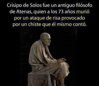 Crisipo de Solos , antiguo filósofo griego, Atenas, 73 años , murió,