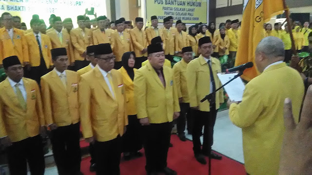 Alex Noerdin Resmi Lantik Tiga Ketua DPD Golkar