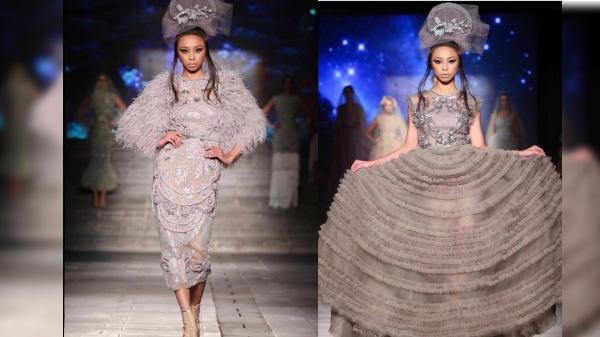 Maymay Entrata slays at Arab Fashion Week 2018