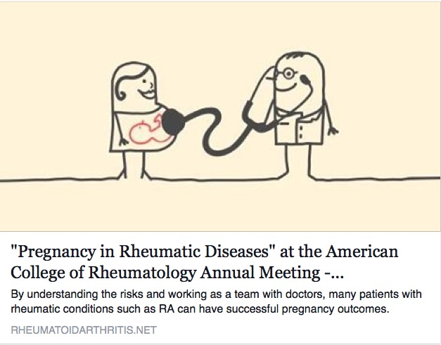 "From This Point  Forward : ""Pregnancy in Rheumatic Diseases"