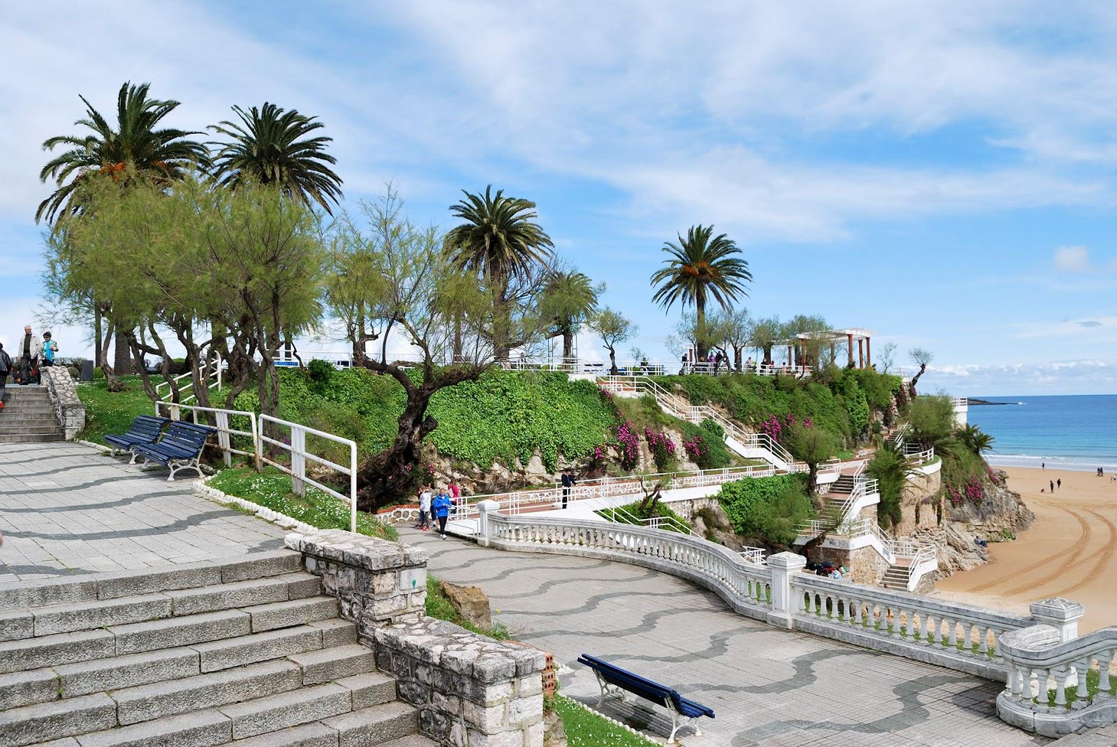 jardines piquio playa sardinero santander cantabria