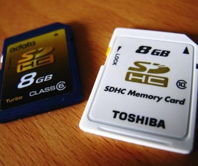 Como escolher o cartão de memória para câmera digital