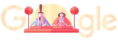 グーグル作「ひな祭り」の画像2016年
