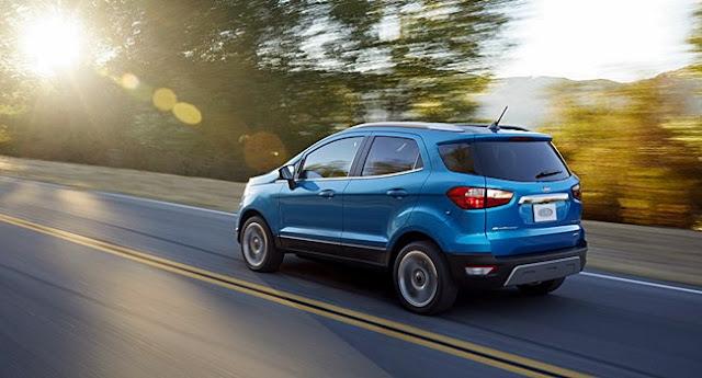 2018 Ford Ecosport Specs
