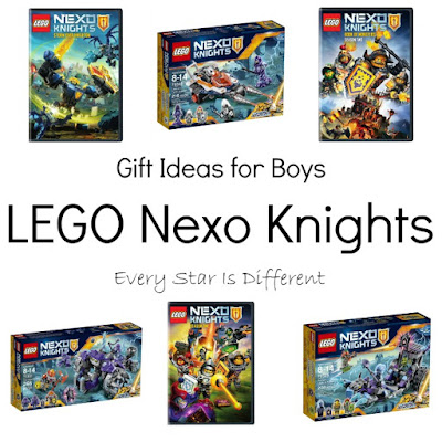 LEGO Nexo Knights gift ideas for kids.