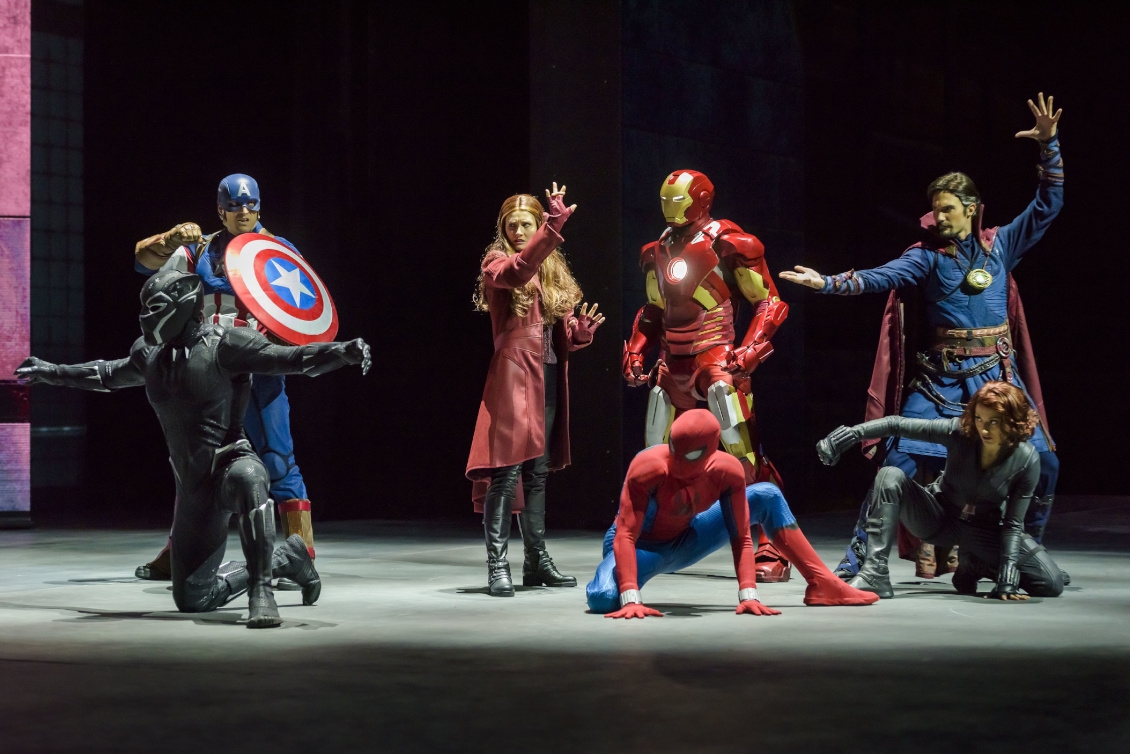 Disneyland Paris - Marvel Saison der Superhelden 2019 - Super Heros United Show