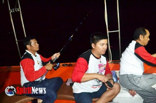 Kapolda Ikut Semarakkan Turnamen Mancing Nasional Pallawa Fishing 2017 di Mako Polair