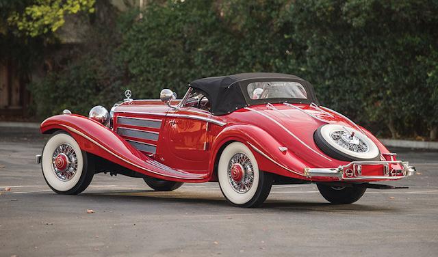 1937 Mercedes-Benz 540 K Special Roadster Exterior