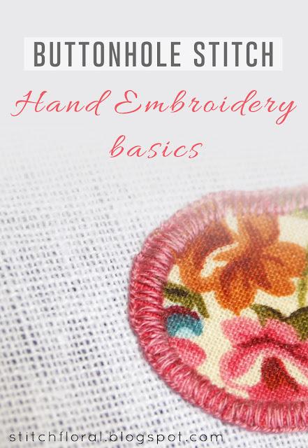 Buttonhole stitch basics