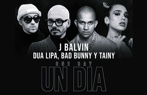 J Balvin & Dua Lipa & Bad Bunny & Tainy - Un Dia (One Day)