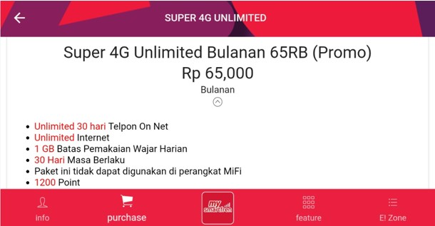 Paket Internet Unlimited Smartfren Sebulan dengan Harga Bersahabat