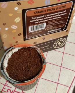 Crazy cups caramel Pecan Cluster coffee empty kcup