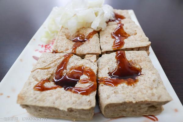 台中太平|東東素食中山店|東東餅|臭豆腐|麵線糊|平價素食美食小吃