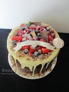 Drip cake doces opções