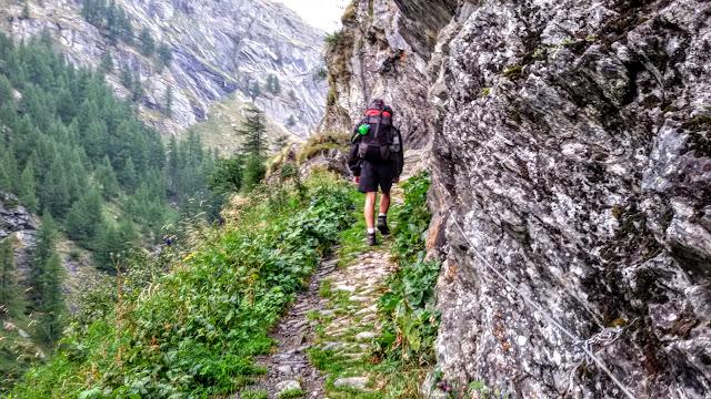 Montespluga Szlak via Spluga Alpy Włochy