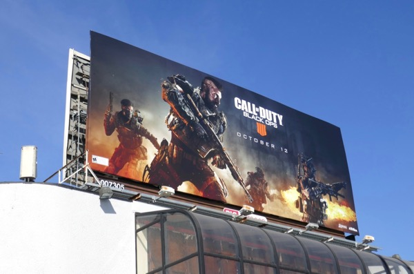 Call of Duty Black Ops 4 billboard