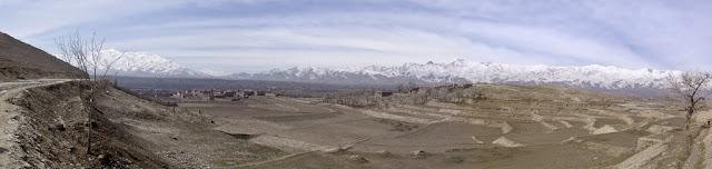 Hindukush Range in Balkh, Afghanistan