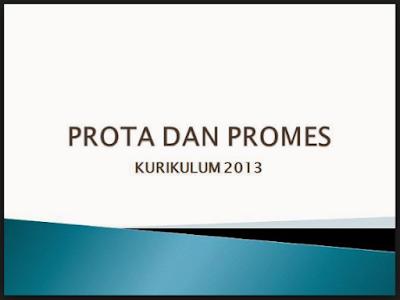 Prota Promes K13 SD Kelas 1 Revisi 2017
