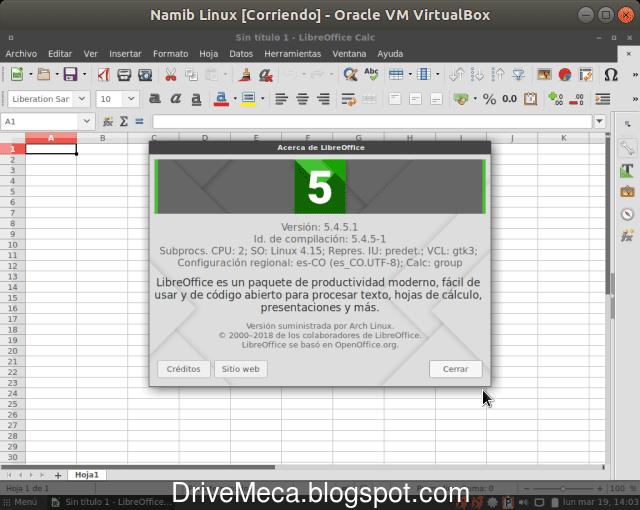 Tienes a tu disposicion LibreOffice como suite de oficina