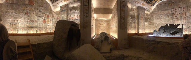 Travel, egypt, luxor, tombs