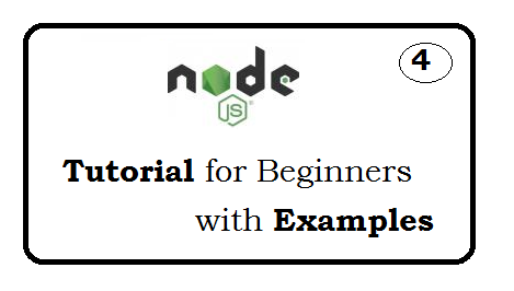 Node js Tutorial for beginners with examples - page 4