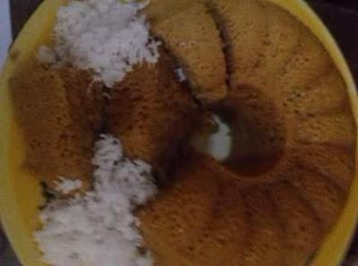Cara Membuat Apam Gula Merah