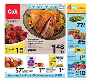 ⭐ Cub Foods Ad 4/24/19 or 4/18/19 ✅ Cub Foods Weekly Ad April 24 2019