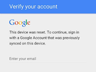 FRP Bypass (Verify Google Account)