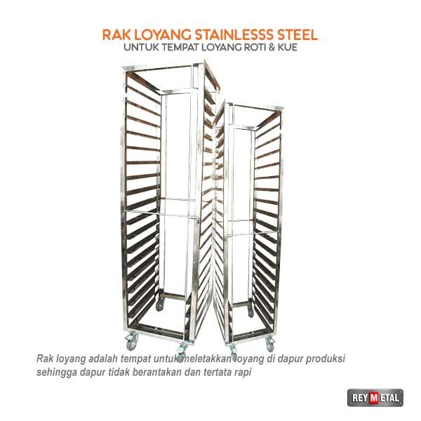 Jual Rak Loyang Stainles Steel di Yogyakarta