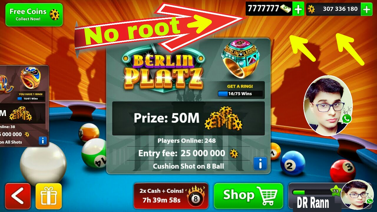 8 ball pool mod apk unlimited coins and cash download