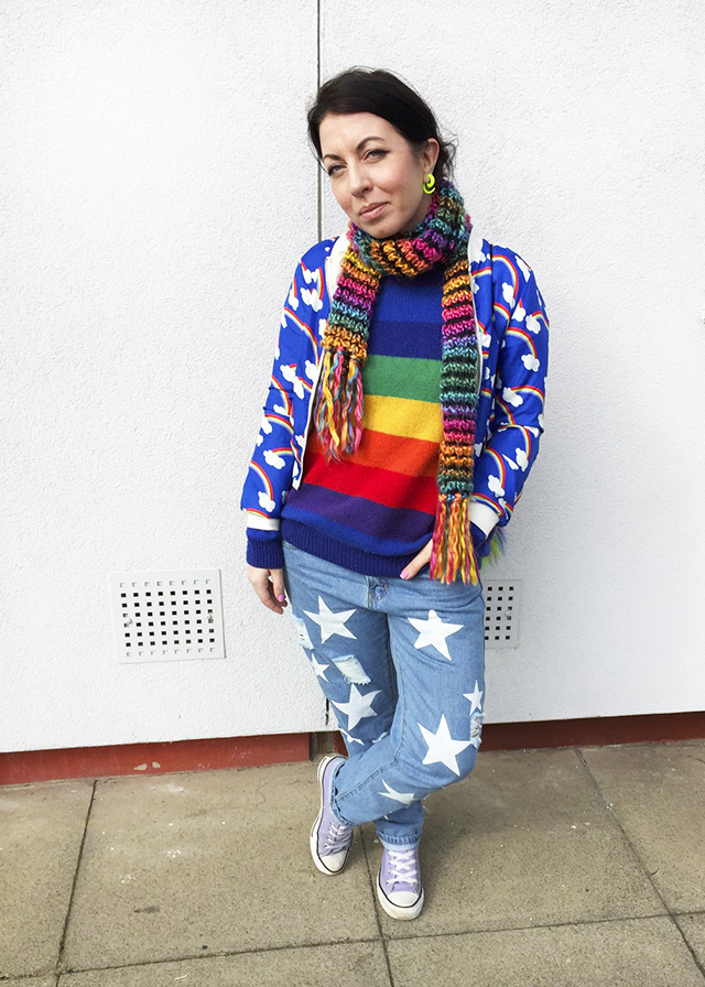 Httpwww Overlordsofchaos Comhtmlorigin Of The Word Jew Html: How I Wear: A Rainbow Jumper & Star Jeans