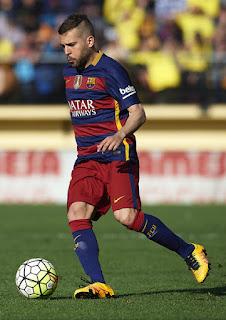 Jordi Alba 2016