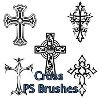Photoshop Wonderland: Cross Brushes