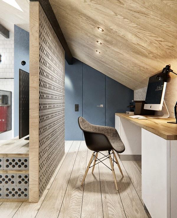 Un int rieur russe l 39 inspiration scandinave for Caler un meuble