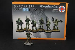 Figurines Infinity US Arizona Ranger Force