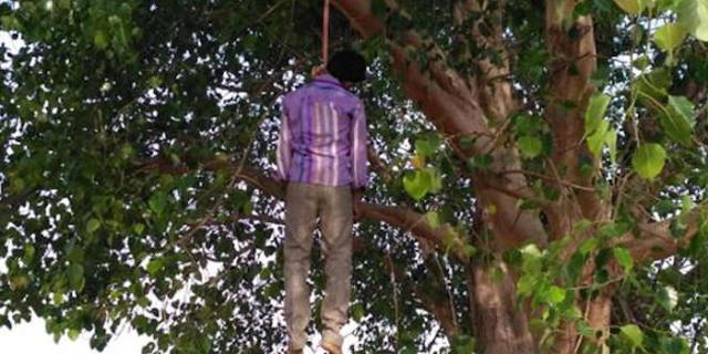 पत्नी का गला काटकर पति पेड़ पर चढ़ा और फांसी लगा ली | ALIRAJPUR MP NEWS
