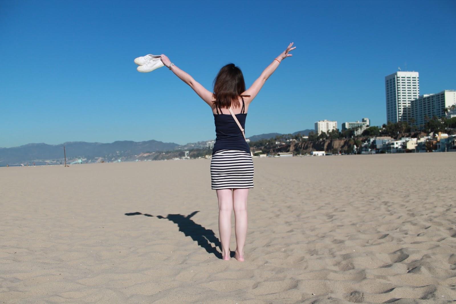USA états unis amérique vacance transat roadtrip ouest américain plage santa monica
