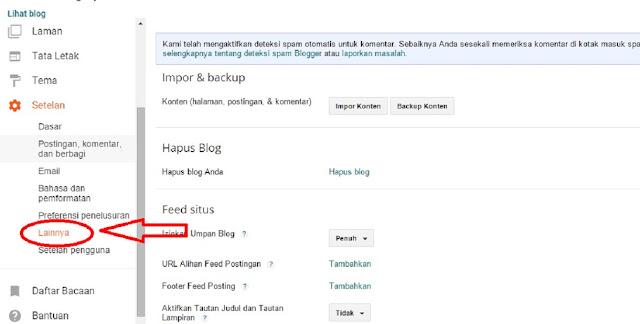 Inilah Cara Cepat Backup Semua Postingan Di Blog Tanpa Ribet !
