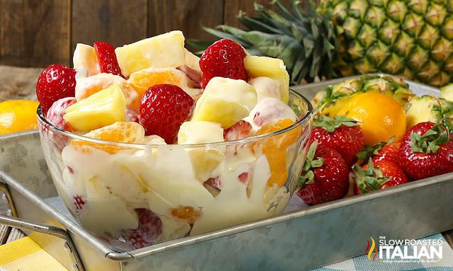 http://theslowroasteditalian-printablerecipe.blogspot.com/2017/06/pina-colada-cheesecake-salad.html